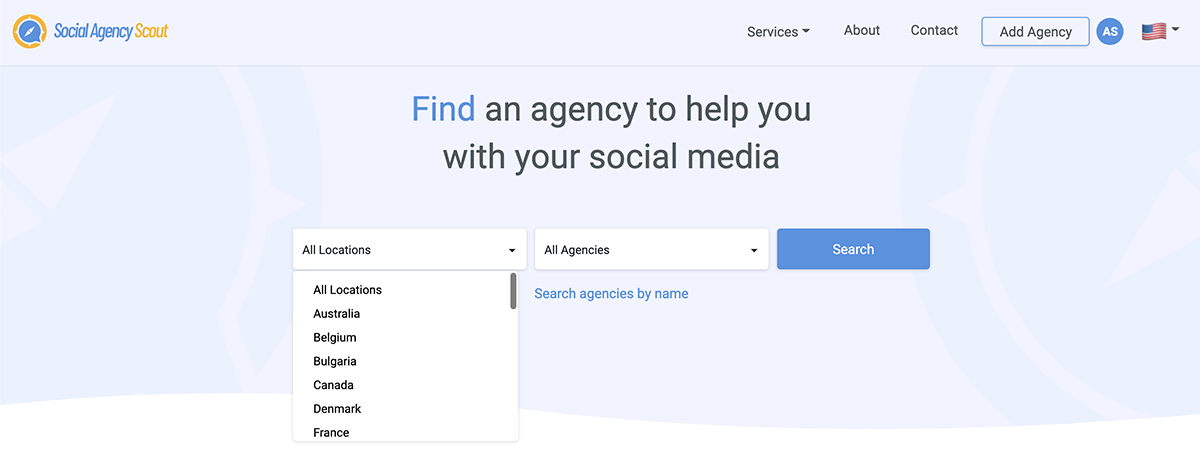 how to find a social media marketing agency